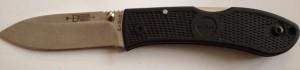 9121503 Ka Bar Komodo Folder, Locking Blade, 420 Stainless Steel Blade, G10 Handle, 7.5