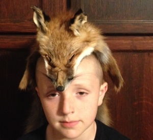 Mountain Man Fox Hat $125